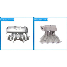 Bottom price for Gravity Casting Aluminum Parts OEM Casting Intake Manifold export to Belarus Factory